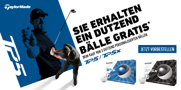 TaylorMade Angebot 4 fuer 3
